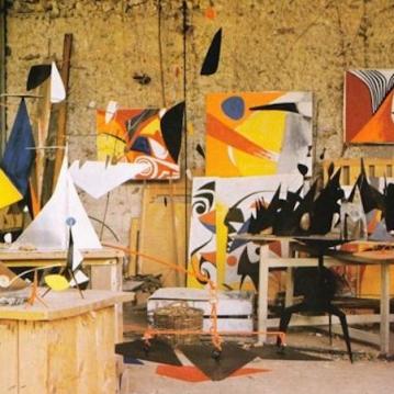 Alexander Calder's home
